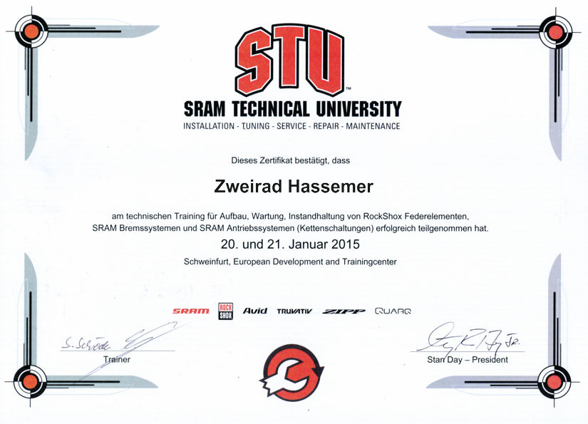 sram-zertifikat-hassemer